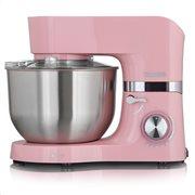 HEINRICH'S Κουζινομηχανή με κάδο μίξης 6.5L σε ροζ χρώμα, 1300W.  KM 6278 pink
