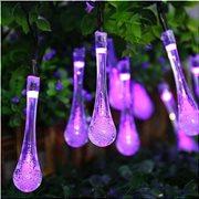 Joylight  20l led δακρυ μωβ φως  με πράσινο καλωδιο