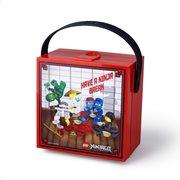 LEGO® lego lunch box with handle - ninjago (bright red)