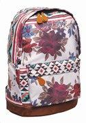 Maui & Sons Σχολική Τσάντα Πλάτης Γυμνασίου-Λυκείου Ethnic Flower GIM