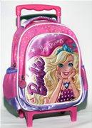 Barbie Τσάντα Τρόλεϋ Νηπιαγωγίου Dreamtopia GIM