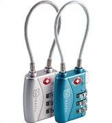Go Travel Λουκέτα Ασφαλείας με κλείδωμα 3 ψηφίων και σύστημα ατσάλινου καλωδίου