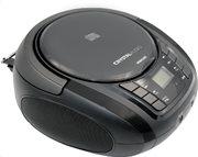 CRYSTAL AUDIO BOOMBOX  CD/MP3/FM PLAYER BLACK