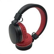 Crystal Audio Ακουστικά Κεφαλής OE-01-KR Μαύρο-Κόκκινο