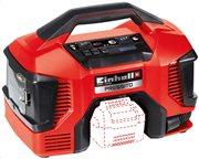 Einhell Power X-Change Pressito Αεροσυμπιεστής υβριδικός (μπαταρίας PXC/ρεύματος) TE–AC 18/11 Li AC-Solo
