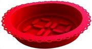 E-my Φόρμα Σιλικόνης Κόκκινη με Κορνέ Roundy