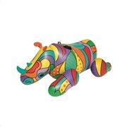 Bestway Φουσκωτό Στρώμα Ρινόκερος POP Ride On 201x102cm 41116