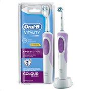 Oral-B Οδοντόβουρτσα Ηλεκτρική Επαναφορτιζόμενη Vitality Cross Action Pink