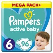Pampers Active Baby Πάνες Μέγεθος 6 (13-18 kg), 96 Πάνες - 81680875