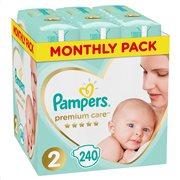 Pampers Premium Care Πάνες Μέγεθος 2 (4-8 kg) - 240 Πάνες-81689717
