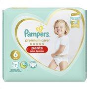 Pampers Premium Care Pants Μέγεθος 6 (15+kg) - 31 Πάνες-Βρακάκι - 81696012