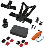 Rollei Σετ 17 Εξαρτημάτων για Action Camera 21642 Sport Set