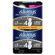 Always Ultra Secure Night (Μέγ. 4) Σερβιέτες Με Φτερά 12 τεμ-83734241