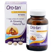 Health Aid Oro-tan Sun Tanning 60 tabs