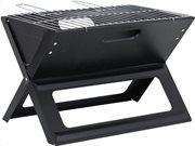 BBQ Collection Φορητή Επιτραπέζια Γκριλιέρα Μπάρμπεκιου Γκριλ Grill σε Μαύρο Χρώμα, 46x36.5x28cm