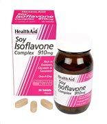 Health Aid Isoflavones Soya 910mg 30 tabs