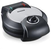 Severin Συσκευή για βάφλες 1200W WA 2103 μαύρη/INOX