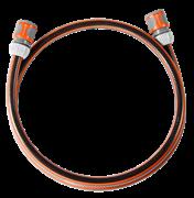 "Gardena Λάστιχο Σύνδεσης 1,5 m- Σετ με συνδέσμους OGS  Comfort Flex 1/2"""