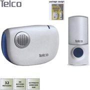 Telco Ασύρματο Κουδούνι Μπαταρίας Αδιάβροχο D-218 με 32 μελωδίες