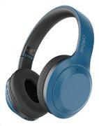 CELEBRAT headphones A24 wireless & wired BT 5.0 40mm μπλέ