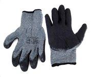 Αντιολισθητικά γάντια εργασίας 02047 γκρι-μαύρο