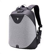 ARCTIC HUNTER τσάντα πλάτης B00208-DG με θήκη laptop αδιάβροχη γκρι