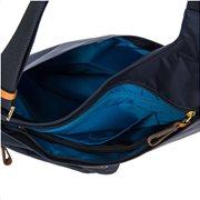 Τσαντα Ωμου-Body Bric's X-Bag Ocean Blue Εξωτερική Τσεπη