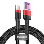 BASEUS καλώδιο USB σε Type-C CATKLF-P91 40W double-sided 1m κόκκινο