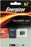 MSD ENERGIZER CL 8GB MICRO SDHC