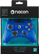Nacon Ενσύρματο Gaming Χειριστήριο PC PCGM-100BLUE Blue