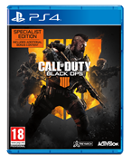 Activision Call Of Duty Black Ops 4 Specialist Edition Playstation 4 PS4 Game