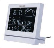 EMOS Μετεωρολογικός σταθμός E5005 υγρόμετρο ημερολόγιο ρολόι