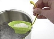Mastrad Θήκη για Αυγά Poacher Σιλικόνης Πράσινη Σετ 2τεμ.