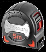 Facom Μέτρο-ρολό με STOP διπλής όψεως 5m 897A.528PB FACOM