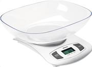 Sencor sks 4001wh (λευκό) ζυγαριά κουζίνας με αποσπώμενο μπολ lcd οθόνη