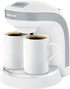 Sencor sce 2001 (λευκό) καφετιέρα φίλτρου 0,3l 350w 2 φλιτζάνια