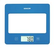 Sencor sks 5022bl (μπλε) ζυγαριά κουζίνας γυάλινη βάση