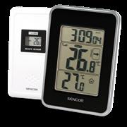 Sencor Ασύρματο Θερμόμετρο Μαύρο SWS 25 BS
