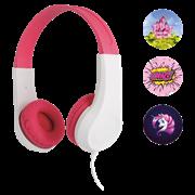 Sencor Παιδικά Ακουστικά Κεφαλής Ροζ SEP 255PK