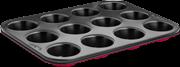 Lamart lt3072  ειδικό σκεύος για muffin 12tmx -σειρά base