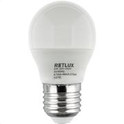 Retlux Λάμπα LED Γλόμπος Θερμό Λευκό E27 6W RLL 265