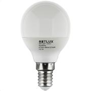 Retlux Λάμπα LED Γλόμπος Θερμό Λευκό E14 6W RLL 268