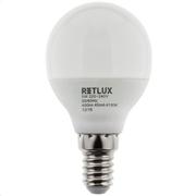 Retlux Λάμπα LED Γλόμπος Ψυχρό Λευκό E14 5W RLL 274