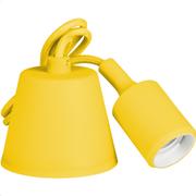 Retlux Καλώδιο/Ντουί E27 Κίτρινο RFC 009