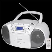 Sencor Κασετόφωνο με Radio-Cd SPT 3907 W