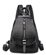 Γυναικεία τσάντα πλάτης LBAG-0003 μαύρη