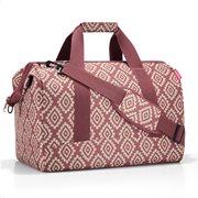 Reisenthel τσάντα ταξιδίου allrounder L σειρά Diamonds Rouge