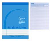 CERVANTES Μπλοκ σημειώσεων Α4 PB372 35 φύλλα 90g/m² γαλάζιο
