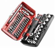 Facom Σετ καρυδάκια-καστάνια 1/4 38 εργαλεία R2NANOPB