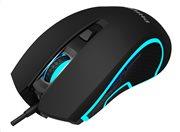 PHILIPS ενσύρματο gaming ποντίκι SPK9413 6400DPI 6 πλήκτρα μαύρο